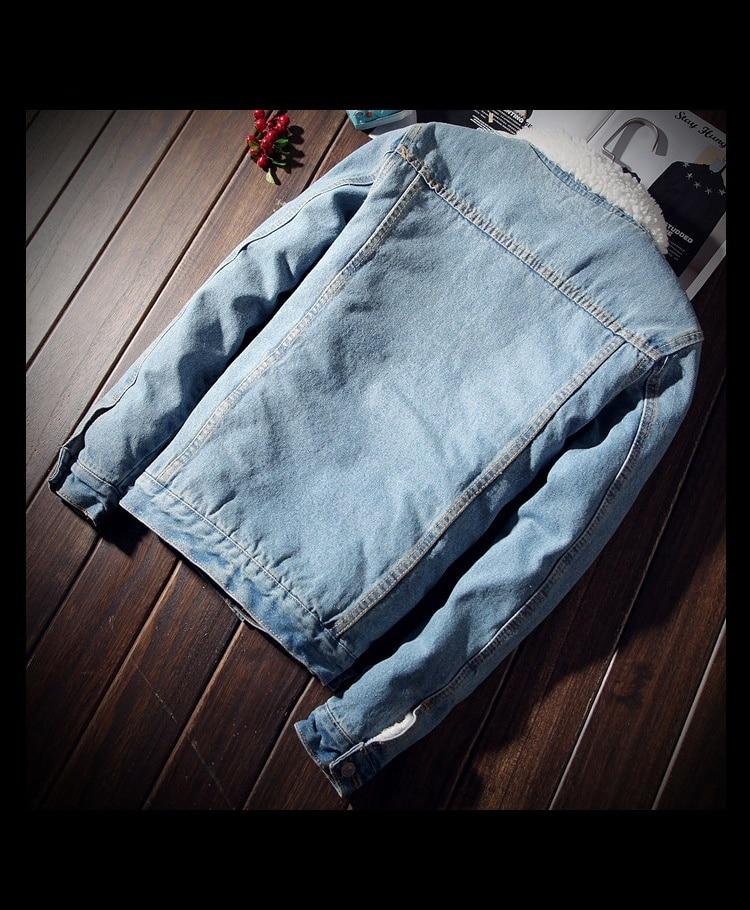 HTB1mhJuXcrrK1RjSspaq6AREXXar Men Jacket and Coat Trendy Warm Fleece Thick Denim Jacket 2019 Winter Fashion Mens Jean Jacket Outwear Male Cowboy Plus Size 6XL