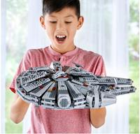 05007 Star Wars Millennium Falcon Force Awakens Building Block Bricks Children Gifts Compatible With Bela Star Wars 75105