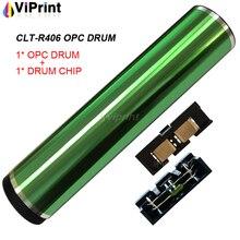 CLT R406 406 OPC Drumรีเซ็ตชิปสำหรับSamsung CLP360 CLP 360 365 366 366W CLX 3305 3305fn 3305fw 3306 3306W 3306fn C410W C460FW
