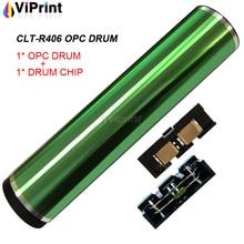 CLT R406 406 OPC Trống Đặt Lại Chip Cho Samsung CLP360 CLP 360 365 366 366W CLX 3305 3305fn 3305fw 3306 3306W 3306fn C410W C460FW
