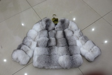 Wholesale Luxurious Fashion Real Women Fox Fur Coat For Young Sex Girls
