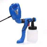 Electric Paint Spray Gun With Air Compressor For Painting Hvlp Best Professional Airless Sprayer Paint Pistol