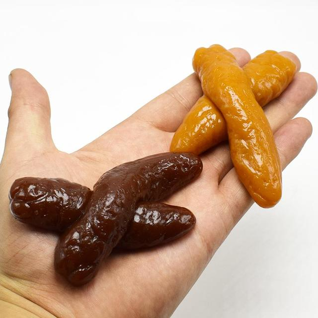 US $13 65 |10pcs/lot Realistic Sticky Mischief Turd X style Gag Shits Poop  Fake Feces Turd Classic Shit Practical Gag Funny Joke Gadget Toy-in Gags &