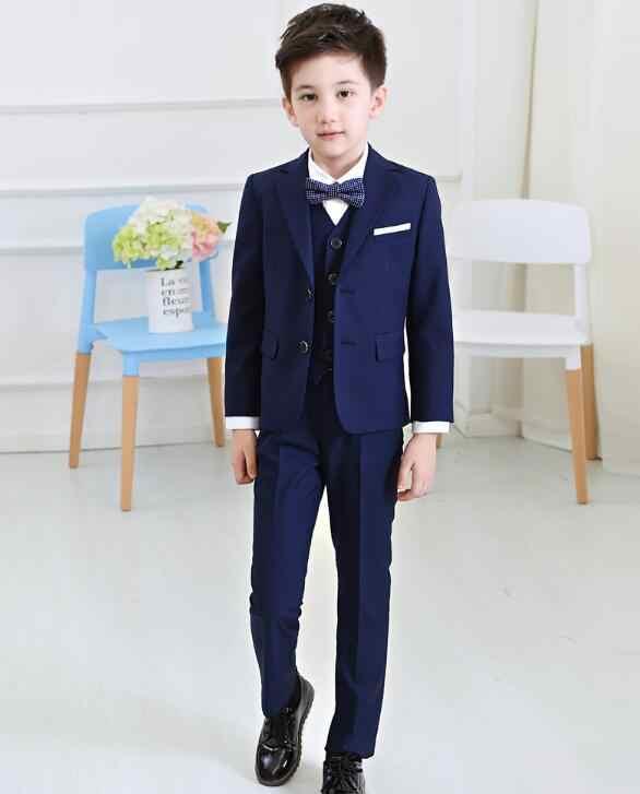 Boys Blazers Kids Boys Suits For Weddings Prom Suits Wedding Dress For Boys Kids Tuexdo Children Clothing Set Blazers For Boys