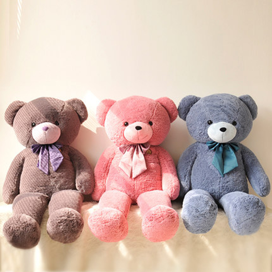 Eevee Plush Toy Stuffed Plush Animals Large Bears Giant Care Teddy Bear Christmas Trinket Peluche Anime Foxy Toys Soft 70A0521