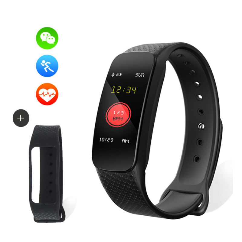 Pelvifine Blood Pressure Pulse Monitors Portable Health Care Photoelectric sensor Watch Monitor Heart Rate Monitor