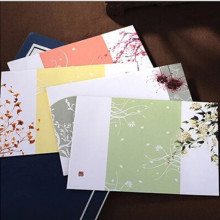 40pcs/ set of colored envelopes, white kraft paper envelope, wedding invitation envelope/gift envelope /4 colors.