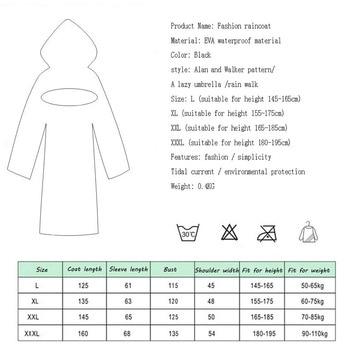 EVA Women Raincoat Rainwear Men Rain Coat Impermeable Capa de Chuva Chubasquero Poncho Japan Waterproof Rain Cape Cover Hooded 1