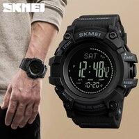 새로운 망 스포츠 시계 skmei 브랜드 야외 디지털 시계 시간 고도계 카운트 다운 압력 나침반 온도계 남자 손목 시계