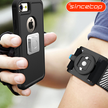 SINCETOP 4.7 5.5 5.8 inch Phone Armband Belt Cover Running Arm Band for xiaomi/yotaphone for iPhone X sports mobile phone holder