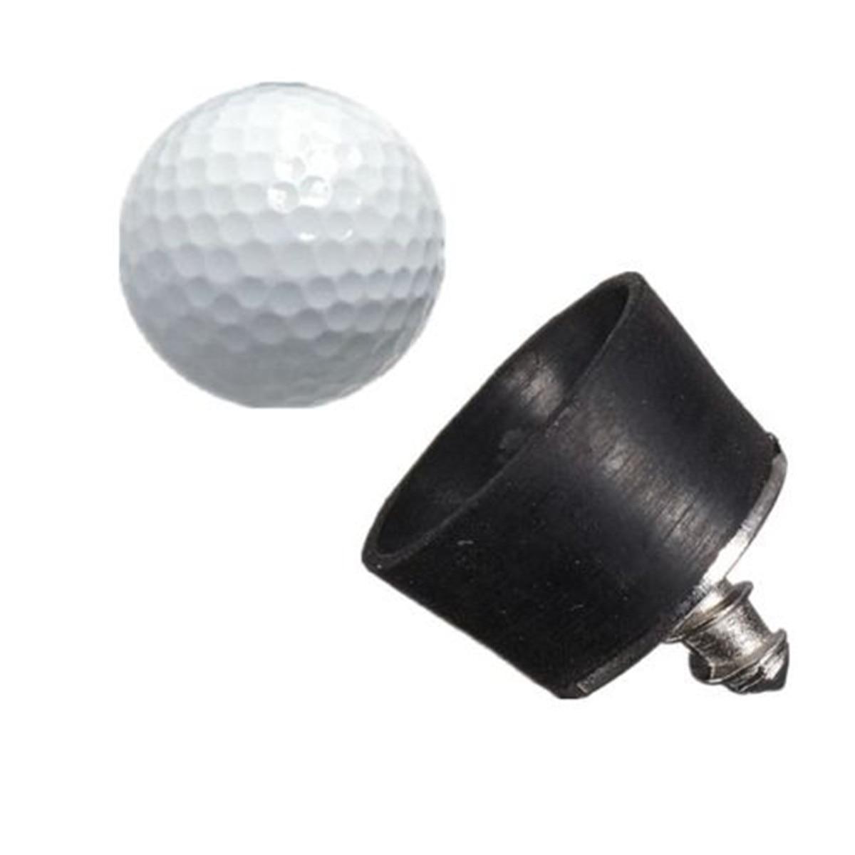 Hot Sale mini Rubber Golf Ball Pick Up Putter Grip Retriever Tool Suction Cup Pickup Screw  golf training aids