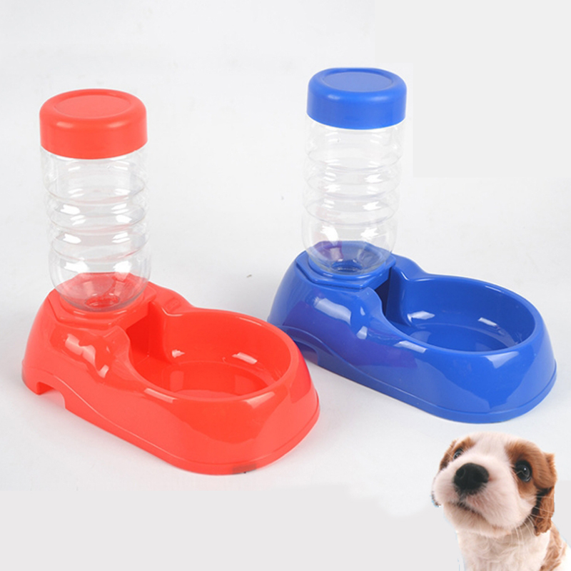 Dog feeder pet automatic drinker pet feeding supplies pet water feeder dog feeding-in Cat
