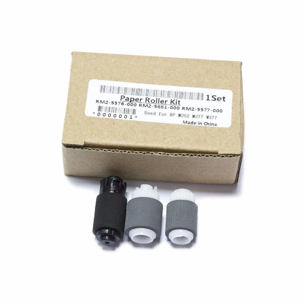 10SET RM2-5576 RM2-5577 RM2-5581 for HP LaserJet M252 274 277 377 477 Roller Kit rm2 7634