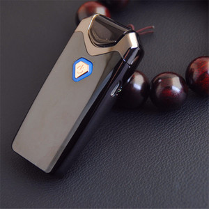 Image 3 - New USB Thunder Lighter Rechargeable Electronic Lighter Cigarette Plasma Double Arc Palse Pulse Windproof Gadgets for Men Gift