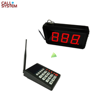 цена на Kitchen Call Waiter System K-MAIN+402 with 1 pcs keypad and 1 pcs 2-digit number display Free Shipping