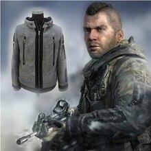 Косплей современный Warfare2 Task Force 141 Ghost пальто Боевая куртка тактическая флисовая куртка