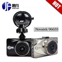 New JUFAN Novatek 96655 Car Dvr Full HD 1080P WDR Night Vision Car Camera Recorder Black