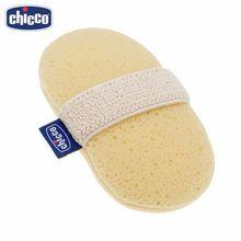 Губка-рукавичка Chicco Baby Moments для купания ребенка с карманом для мыла, 0 мес.+