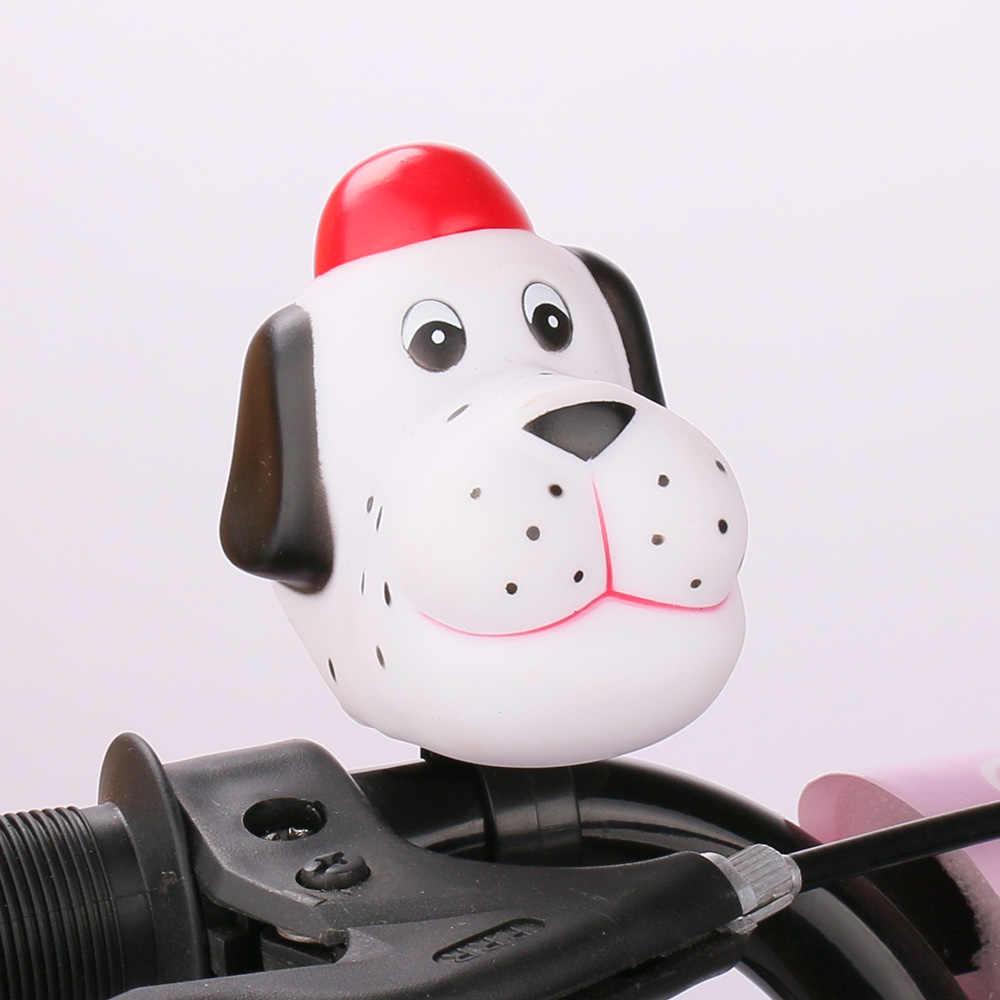 Dr велосипед мультфильм Милая Собака Глава велосипедный Звонок велосипед Squeeze Air Horn Предупреждение сигнализации Велоспорт Руль управления для мотоциклов Белл