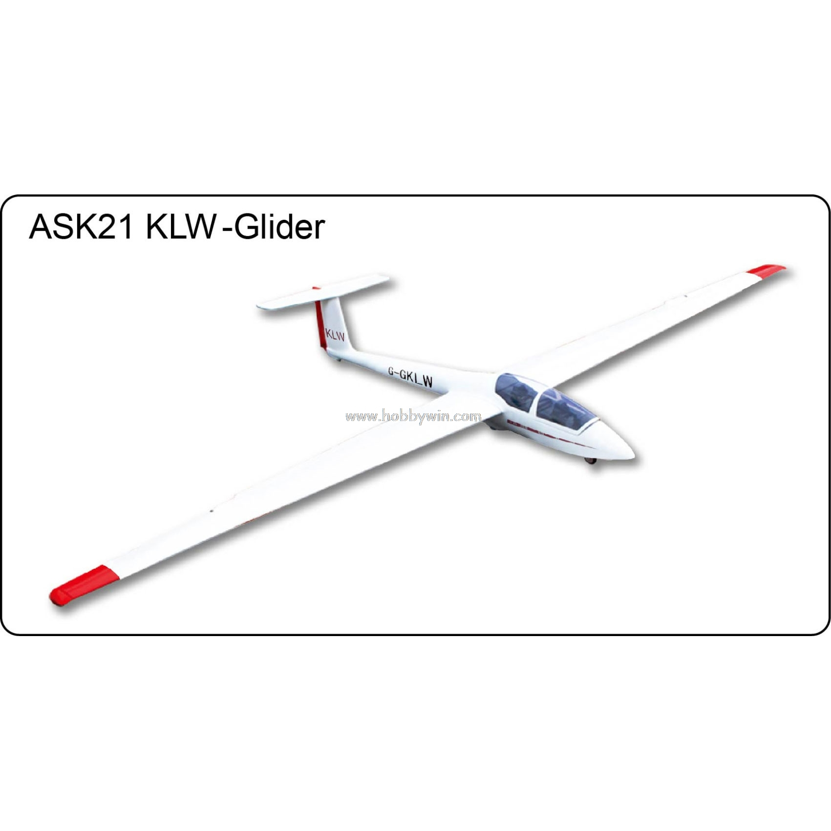 ask 21 klw slope glider 2600mm kit without electric part fiberglass fuselage  u0026 wood wings rc