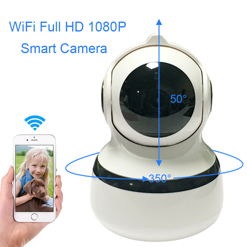 IP Netzwerk Wireless 1080 P 2MP Home Security Kamera 2,4G Smart WIFi Innen Sicherheit Surveillance Zwei-wege Audio Box kameras