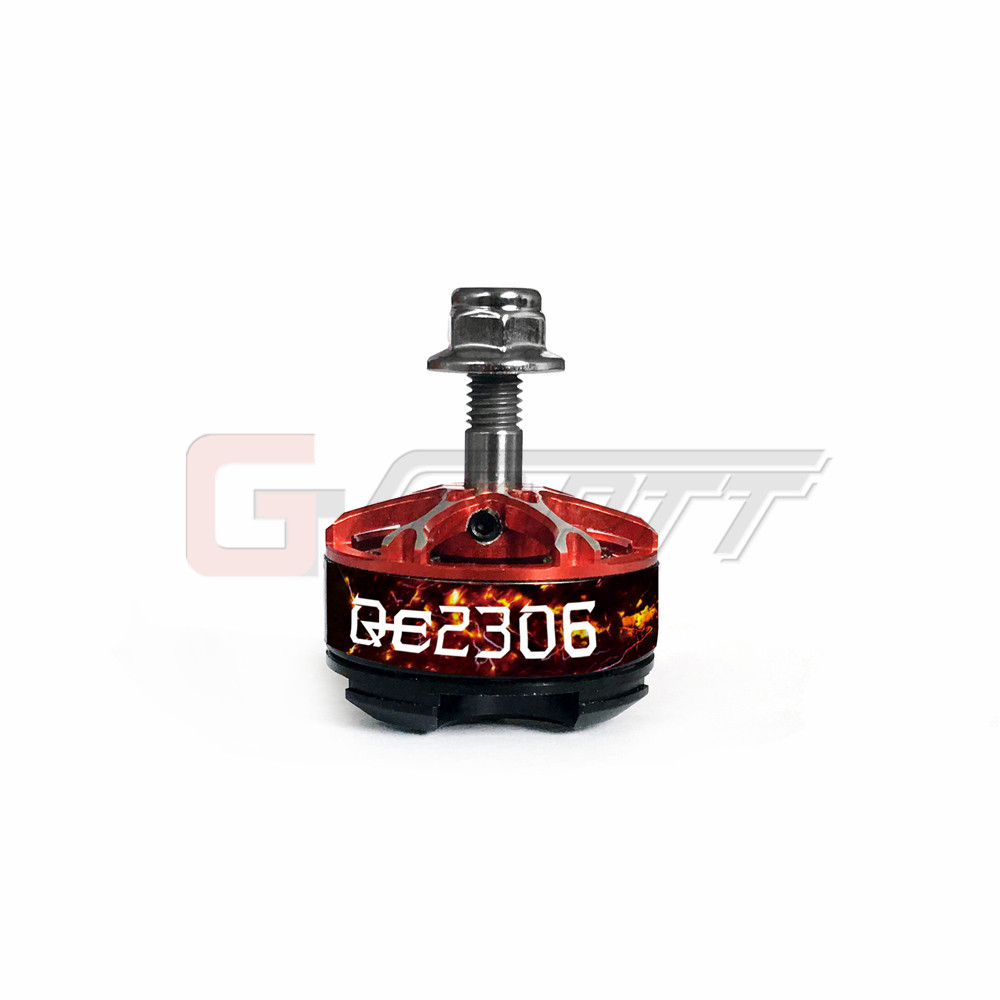 Gartt QE2306II 2750KV Moteur Brushless 3-4 s Pour Mini FPV Drones de Course QAV 210 250 300 FPV quadrirotor Cadre