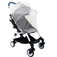 Baby Winkelwagen Klamboe Insect Shield Zuigelingen Bescherming Mesh Kinderwagen Accessoires Voor 90% Kinderwagen Kinderwagen Klamboe