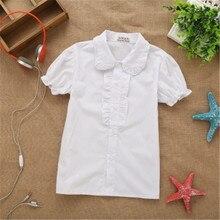 baby kids girls blouse white shirts