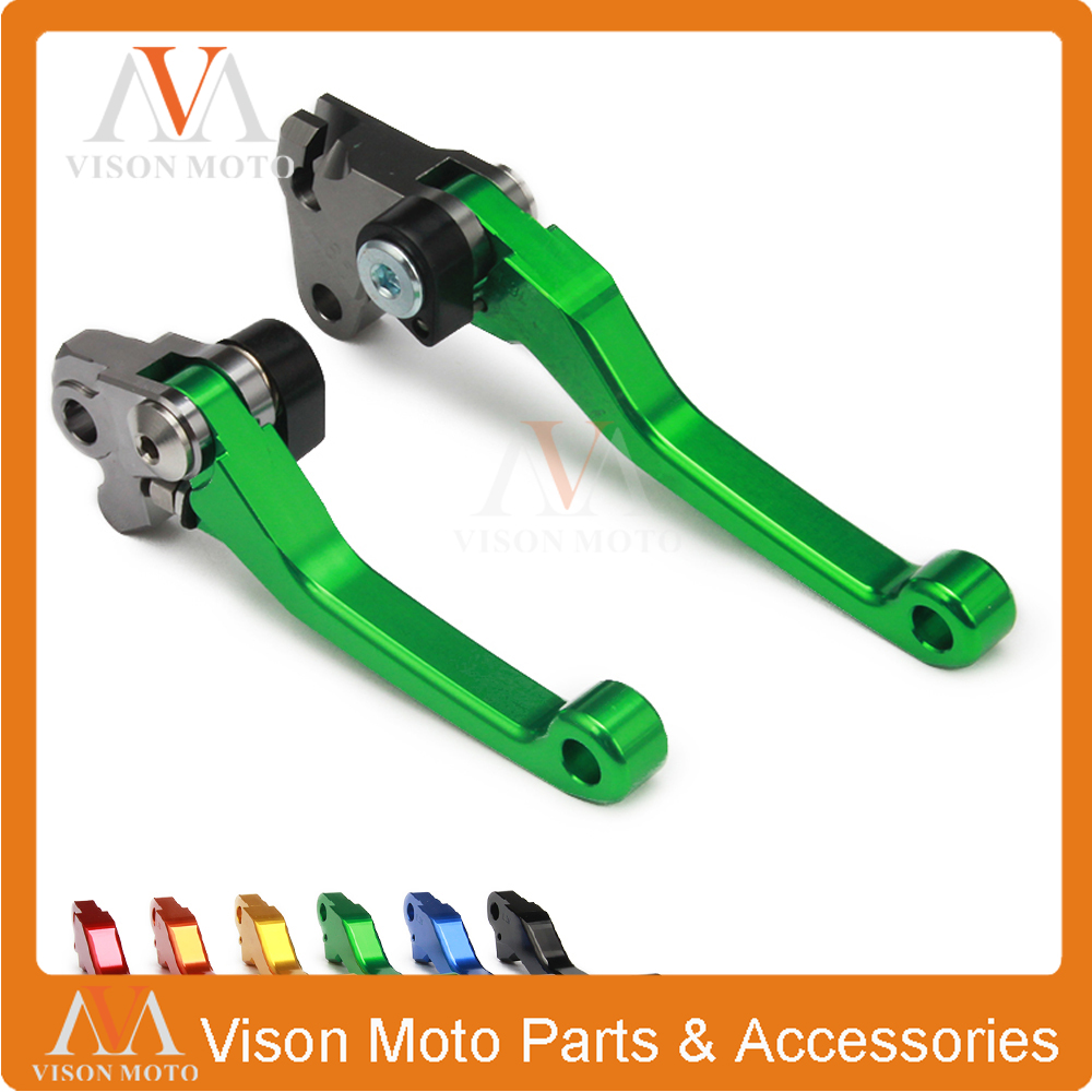 Cnc Pivot Brake Clutch Levers For Kawasaki Klx450r Klx 450r 2008 Spacer Gear Duralium Dtracker Fit 08 15