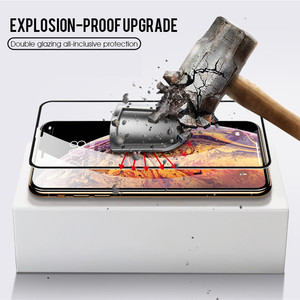 Image 4 - Vidrio Protector 99D para iPhone X XS Max XR, Protector de pantalla templado, cubierta completa, vidrio curvado para iPhone 6 s 7 8 Plus XR