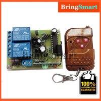 12-24 V 2-way Moteur Sans Fil Télécommande Interrupteur émetteur récepteur Moteur Réversible Logement Garde D'entrée d'alarme Antivol