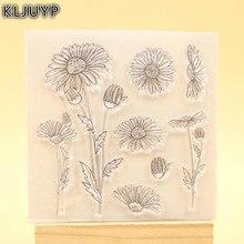 KLJUYP Flowers Clear Stamps Scrapbook Paper Craft Clear stamp scrapbooking 321