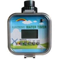 2 MODE LCD Solar RainStop Electronic Garden Water Timers Rain Sensor Function Adopt Solenoid Valve 5