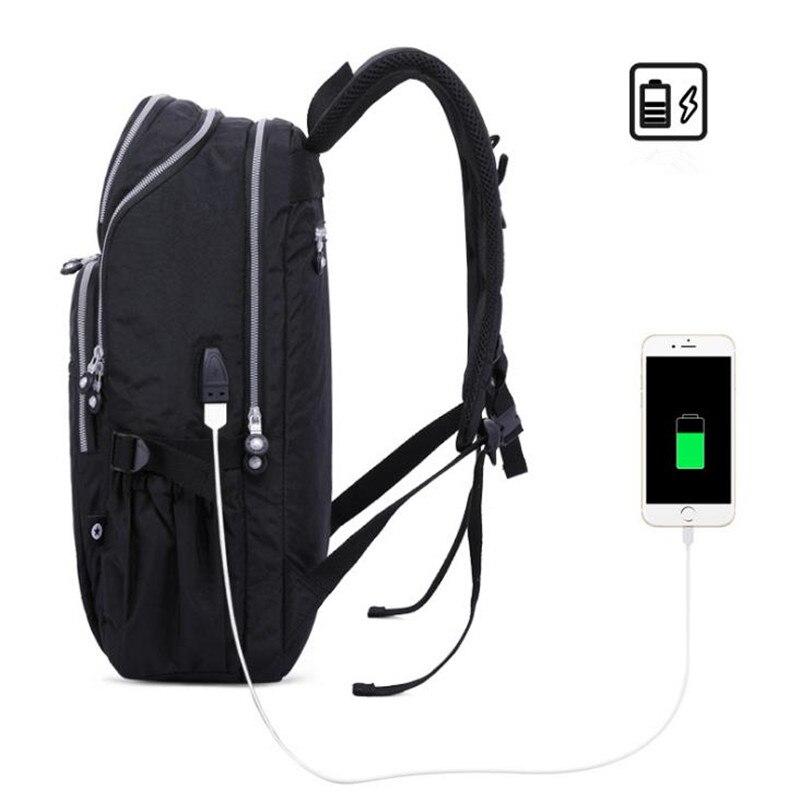 BOPAI, новинка, тонкий рюкзак для ноутбука, мужской, USB, 15 дюймов, рюкзак, Противоугонный, водонепроницаемый - 6