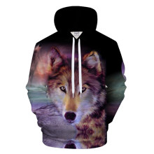 Wolf Hoody 3D Hoodies Men Women Hoodie Animal Sweatshirt Streatwear Tracksuit Pullover Coat Harajuku Jacket Drop Ship ZOOTOPBEAR(China)