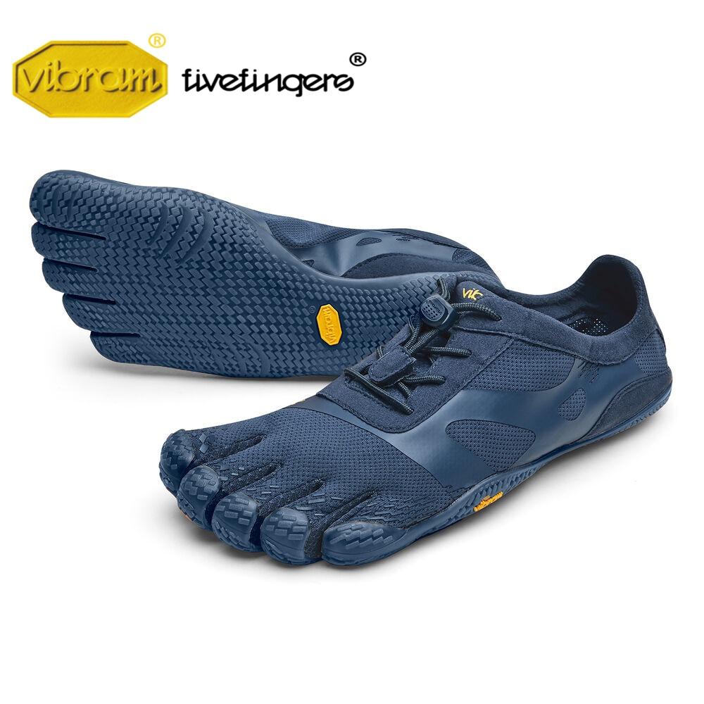 Vibram Fivefinger 2019 KSO EVO XS TREK Men Mesh Sneakers Five Fingers Fast Lacing Slip Indoor Fitness Playa Rubber Shoe