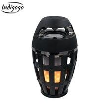 Indigogo i3 Bluetooth-Speakers Hot Flame Portable atmosphere Lamp Light Wireless-speaker for computer for laptop tablet Speakers