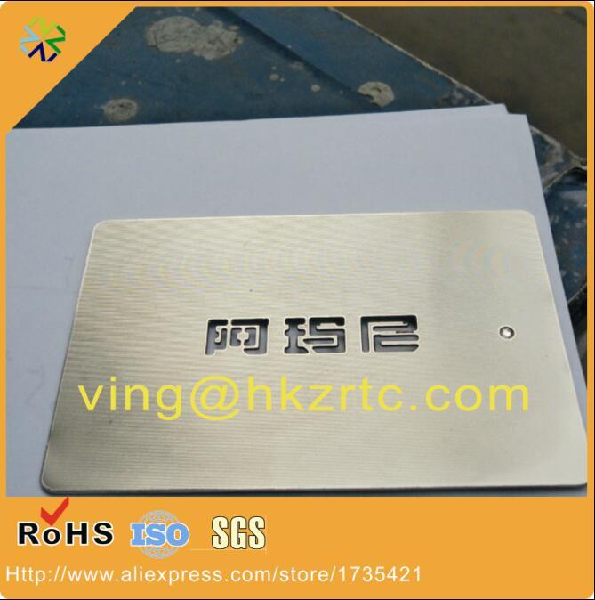Laser Cut Metal Business Cards Promotion-Shop for Promotional ...