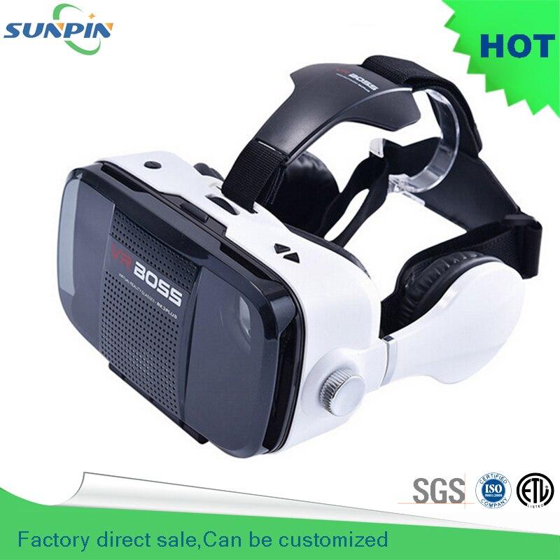 "Factory direct <font><b>VR</b></font> BOSS Z4 <font><b>VR</b></font> <font><b>Glasses</b></font> <font><b>Virtual</b></font> <font><b>Reality</b></font> 3D <font><b>Glasses</b></font> With Microphone and Headset Google <font><b>glass</b></font> <font><b>for</b></font> <font><b>4</b></font>""~<font><b>6</b></font>"" Smartphone"