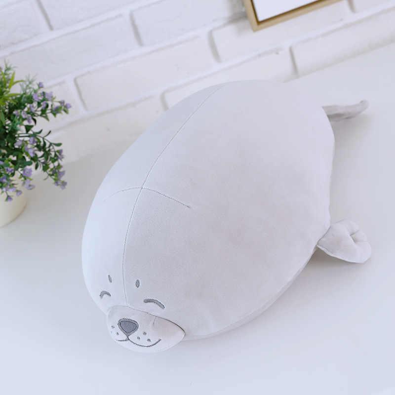 1 шт Симпатичные мягкие животных морской Лев Кукла детская подушка для сна морской печать с животными Детская плюшевая игрушка мягкие игрушки подарок