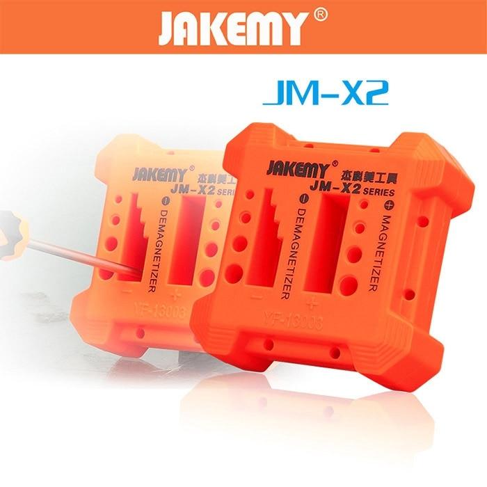 JAKEMY JM - X2 Solid Magnetizer Demagnetizer Professional Tool держатель третья рука jakemy с линзой и подставкой под паяльник jm508