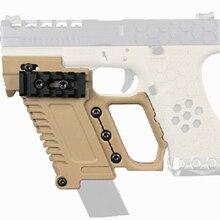 Тактический Журнал GLOCK удлиняющий держатель Airsoft кобура для пистолета Грипсы для GLOCK многофункциональные принадлежности для охоты Вечерние