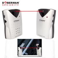 Doberman Security Home Alarm Infrared Sensor  Motion Detector Home Security Alarm System IR Sensor Entry Defender With Chime|defender|defender alarm system|  -