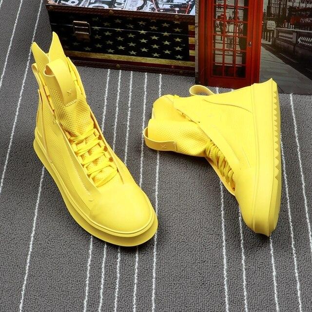 High Top Hip-Hop Boots 4