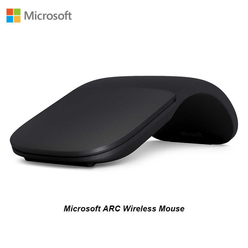 Baru Microsoft ARC Touch Permukaan Arc Blueshin Teknologi Bluetooth Mouse Creative Folding Touch Mouse Pro5/4Go Permukaan untuk Laptop