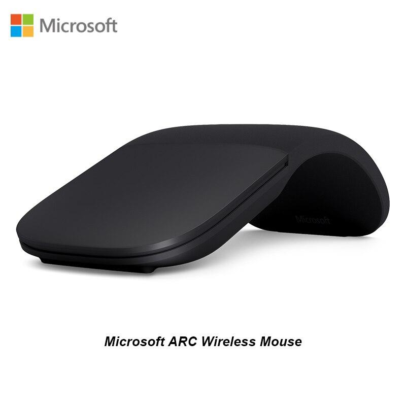 Nouveau Microsoft Arc tactile Surface Arc Blueshin technologie Bluetooth souris créative pliante tactile souris Pro5/4Go Surface pour ordinateur portable