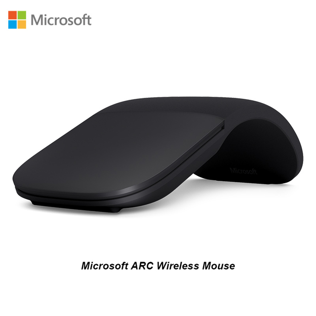 Nuevo Microsoft Arc Touch Surface Arc Blueshin tecnología Bluetooth Mouse creativo plegable táctil ratón Pro5/4Go superficie para ordenador portátil