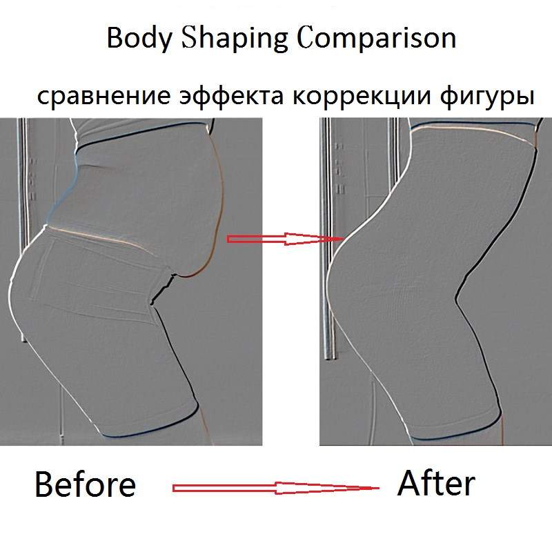 Image 5 - COLORIENTED Women Body Shapers Elastic Silicone Rubber Waist Lateral Bone Mesh Underwear Female Shaping Panties Mesh Lace Pants-in Control Panties from Underwear & Sleepwears