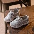 Moda Infantil Chicos Chicas Zapatos Niños Entrenadores Deportes Running Shoe Antideslizante de Malla Transpirable Zapatillas de Deporte Casuales Zapatos de Bebé