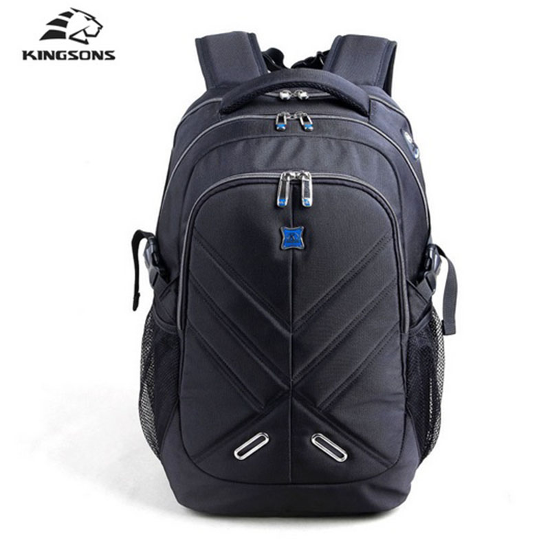 Kingsons Men Backpack Fallow Business Affairs Men Bags 15.6 /17.3 inch Waterproof Notebook Backpack Teenagers Student School BagKingsons Men Backpack Fallow Business Affairs Men Bags 15.6 /17.3 inch Waterproof Notebook Backpack Teenagers Student School Bag